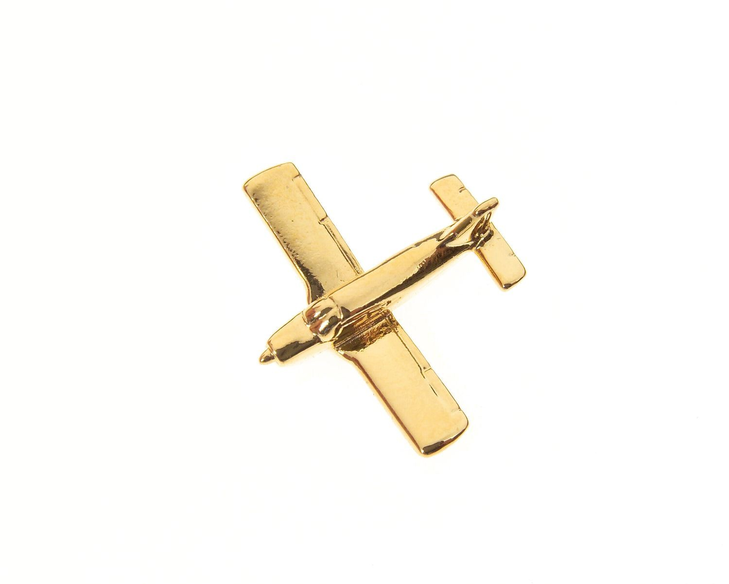 Piper Arrow Gold Plated Tie / Lapel Pin
