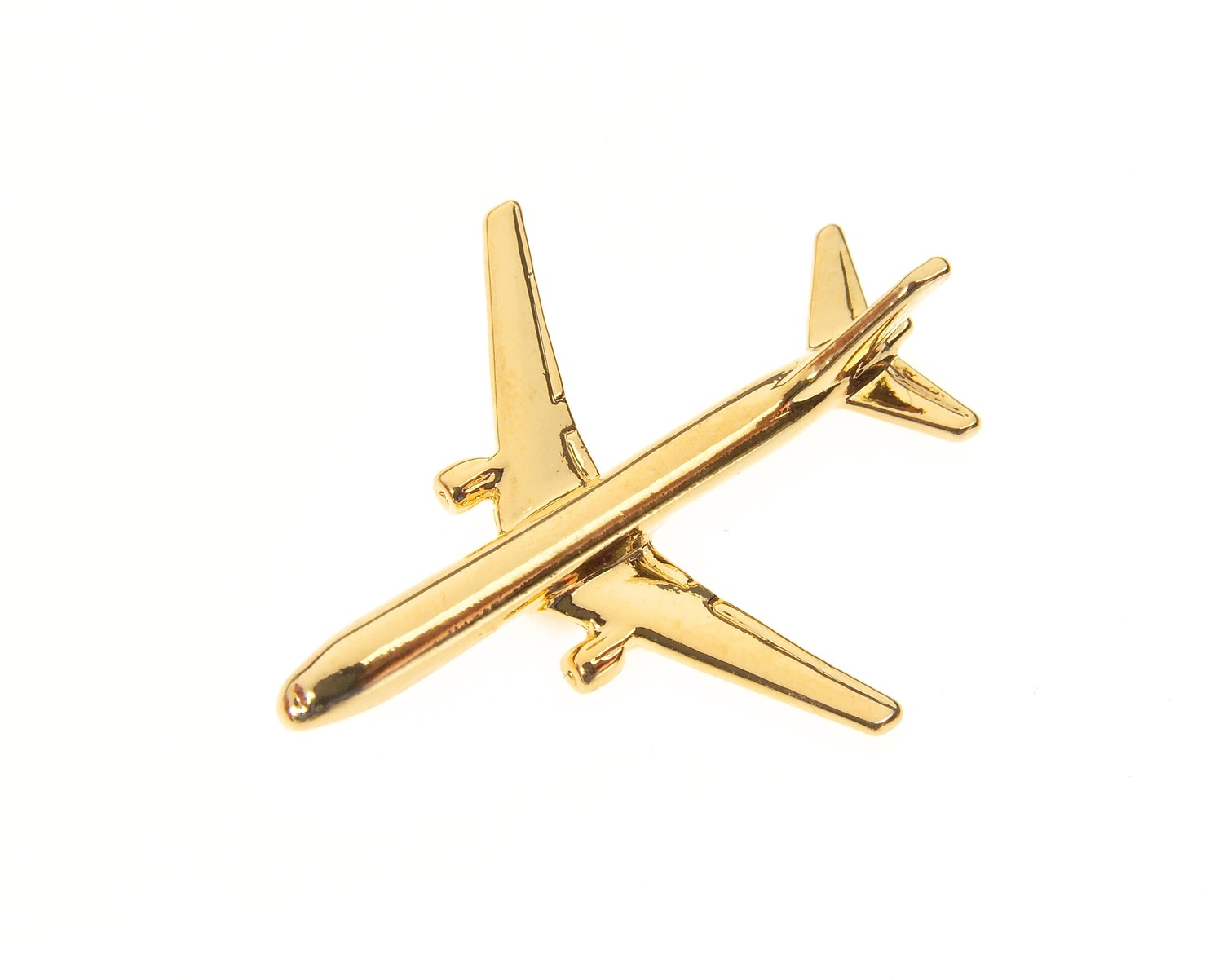 Boeing 767-300 Gold Plated Tie / Lapel Pin