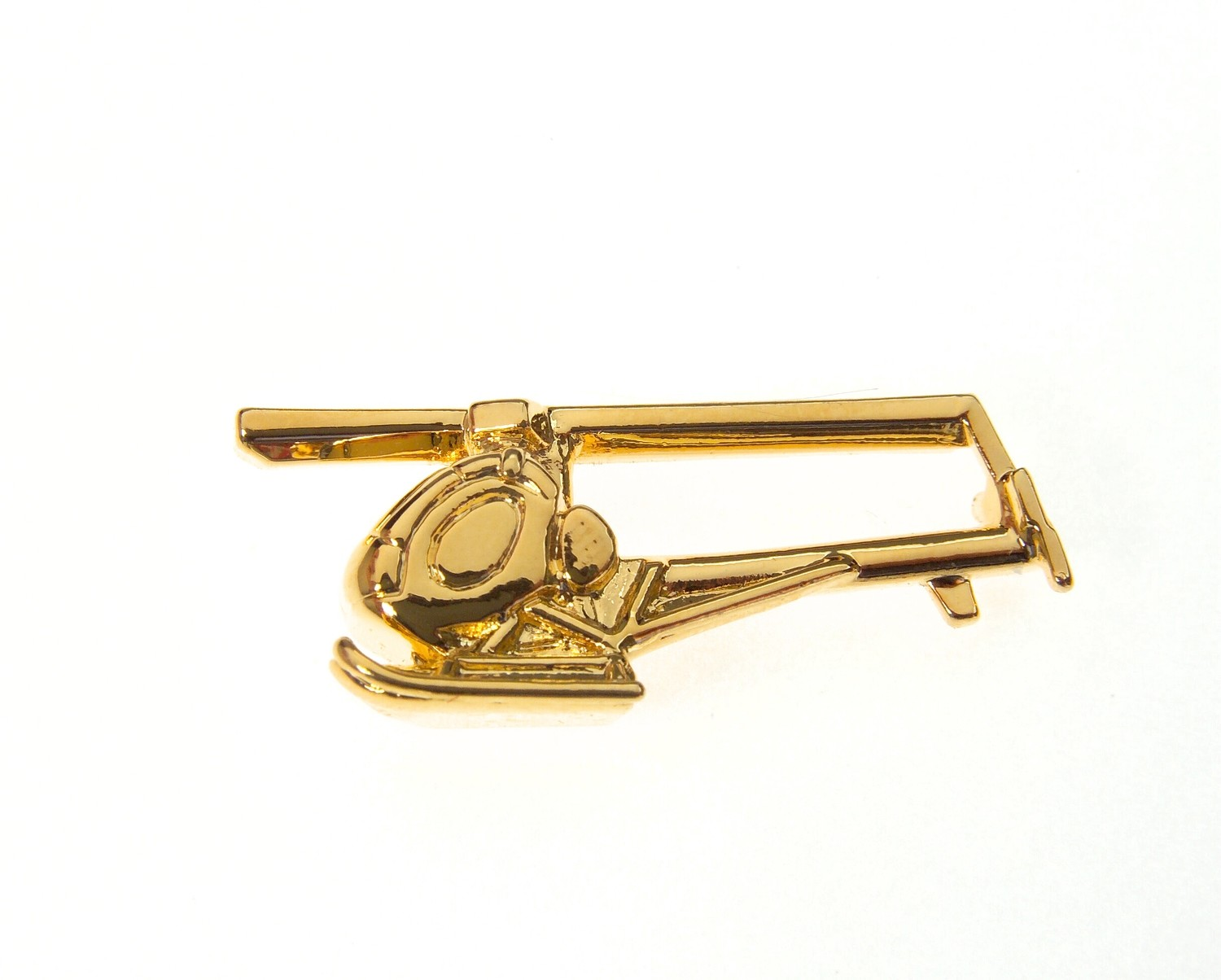 Hughes 300 Gold Plated Tie / Lapel Pin