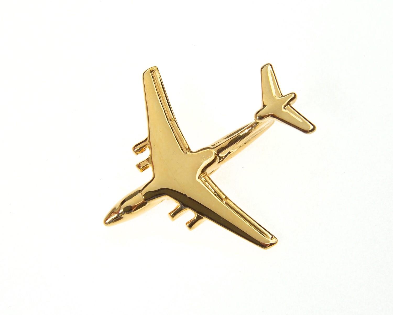Ilyushin 76 - IL76 Gold Plated Tie / Lapel Pin