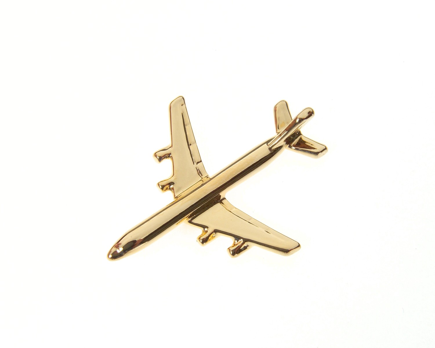 DC8 Gold Plated Tie / Lapel Pin