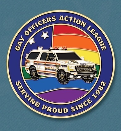 GOAL NY Pride 2016 Challenge Coin