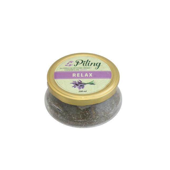 Herbateria - Piling za stopala 200 ml 00357