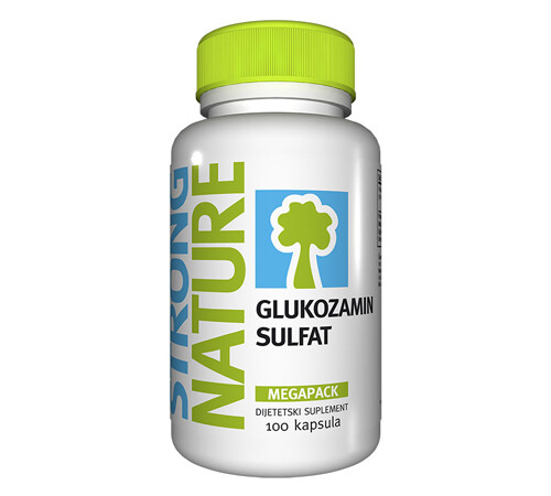 Strong Nature Glukozamin sulfat  100 cps, 1+1 gratis