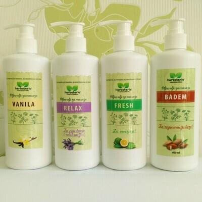Herbateria - Biljno ulje za masažu 400 ml