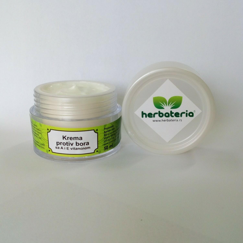 Herbateria - Krema protiv bora sa A i E vitaminom 50 ml