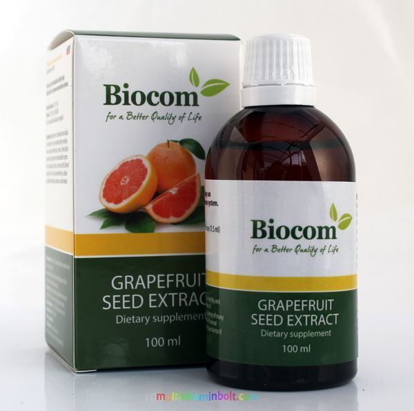 Biocom Ekstrakt semena grejfruta 100 ml 0009
