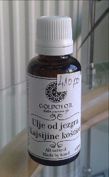 Golden Oil ulje jezgra kajsijine koštice 30 ml 00026