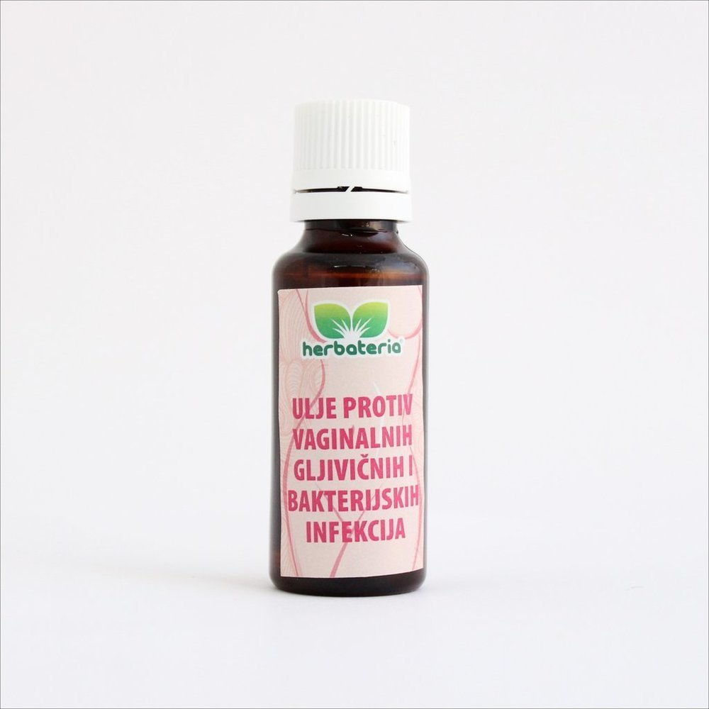 Herbateria - Ulje protiv vaginalnih gljivičnih i bakterijskih infekcija  30 ml