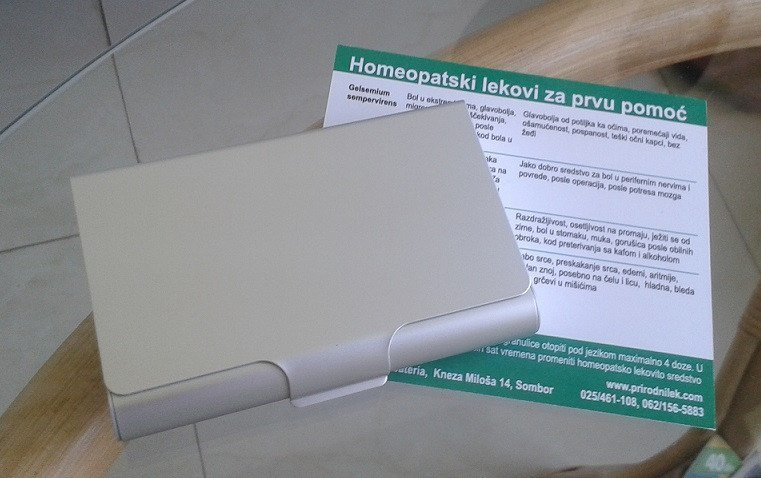 Homeopatski set za decu za prvu pomoć