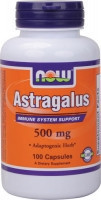 Now Astragalus 500 mg -100 kapsula