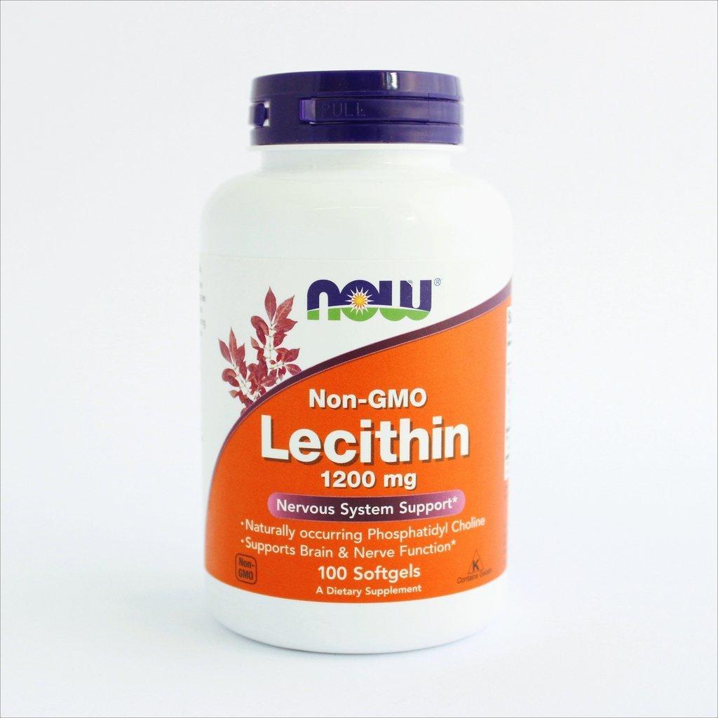 NOW Foods - Lecitin bez GMO-a 1200 mg (100 kapsula) 00175