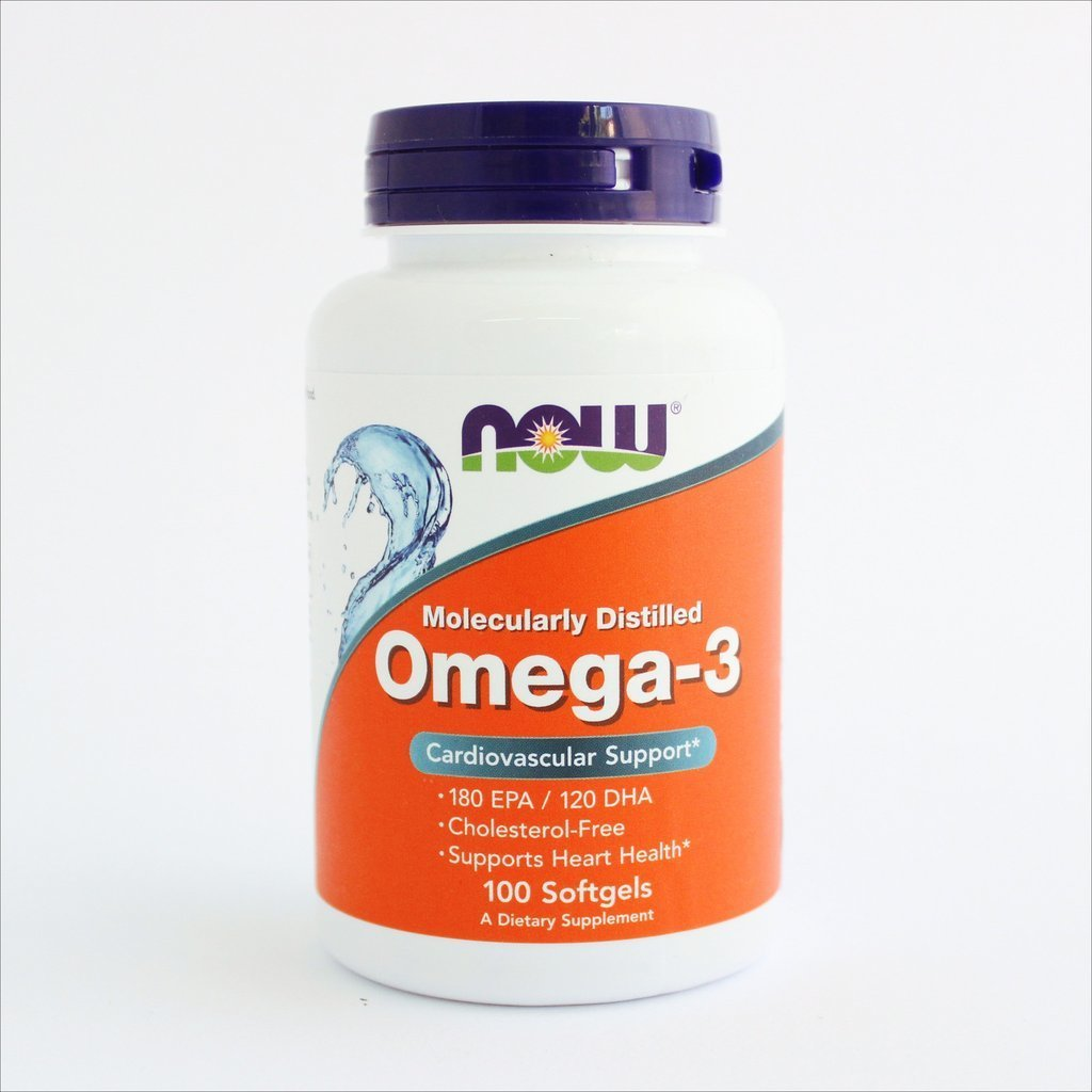 NOW Foods - Omega-3 1000 mg (100 i 200 kapsula) 00178