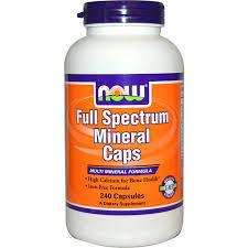 Now Full spectrum minerals (kompleks minerala) 100 tableta 00183
