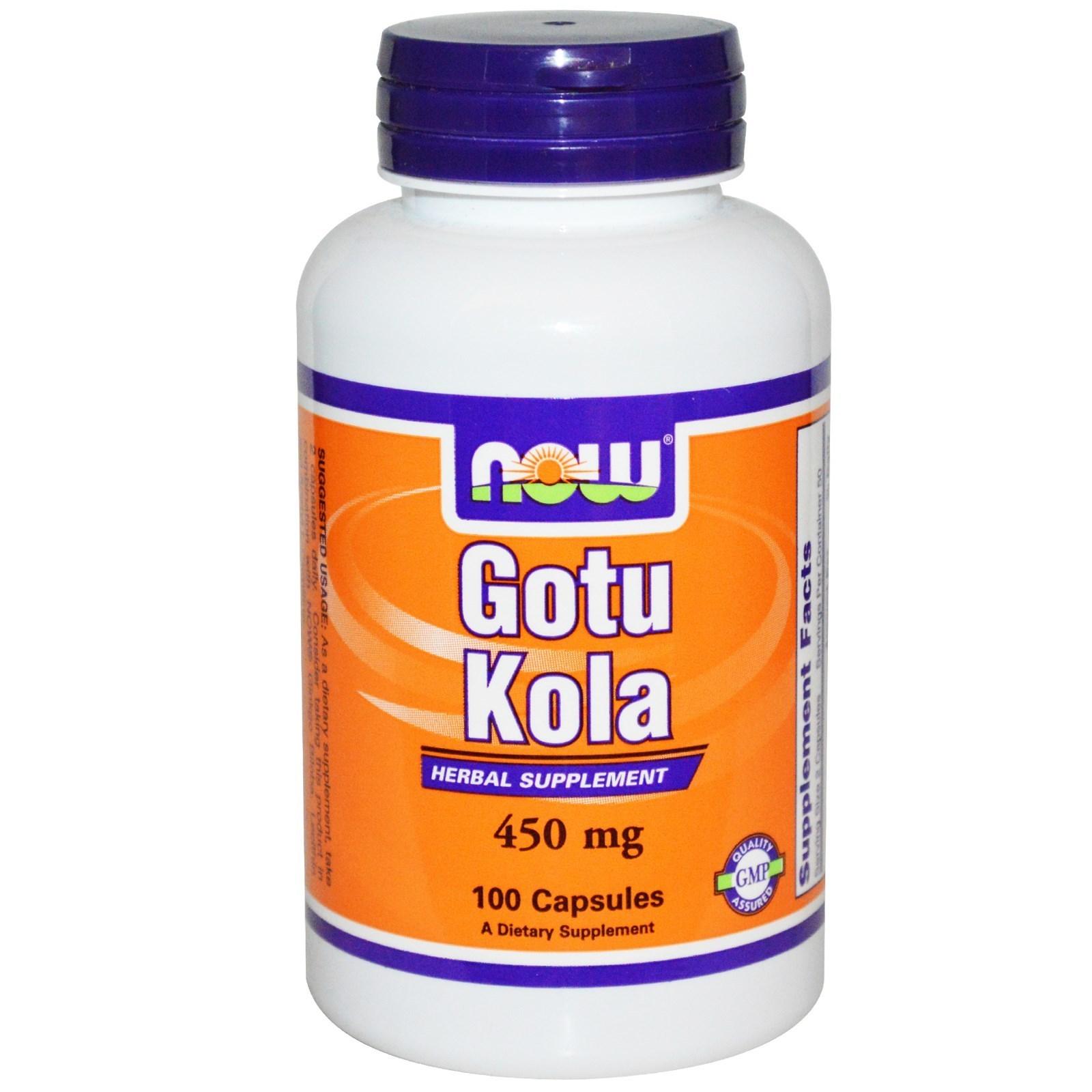 Now Gotu kola 450 mg-100 kapsula 00185