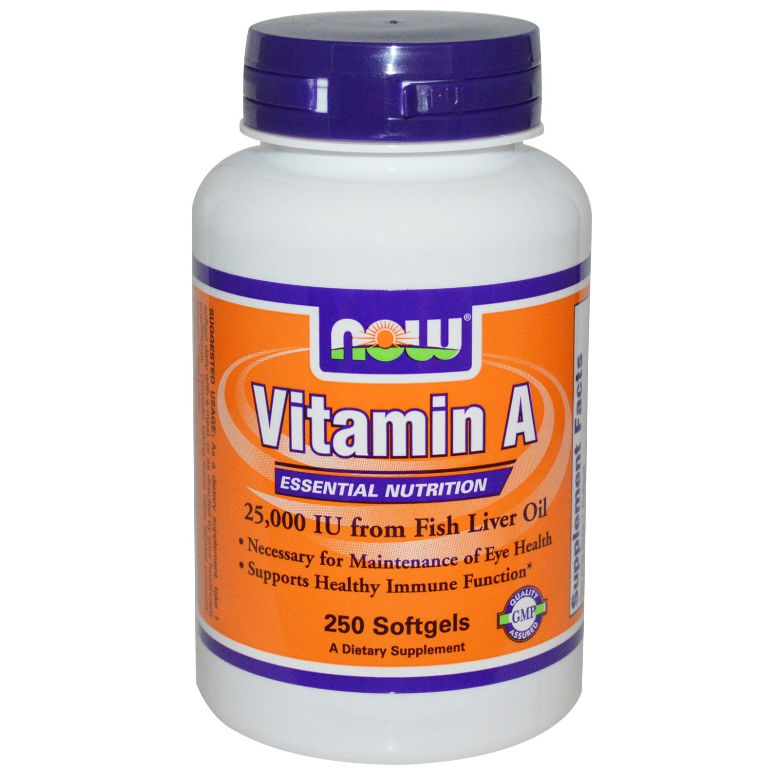 Now Vitamin A 10.000IU -100 kapsula 00206