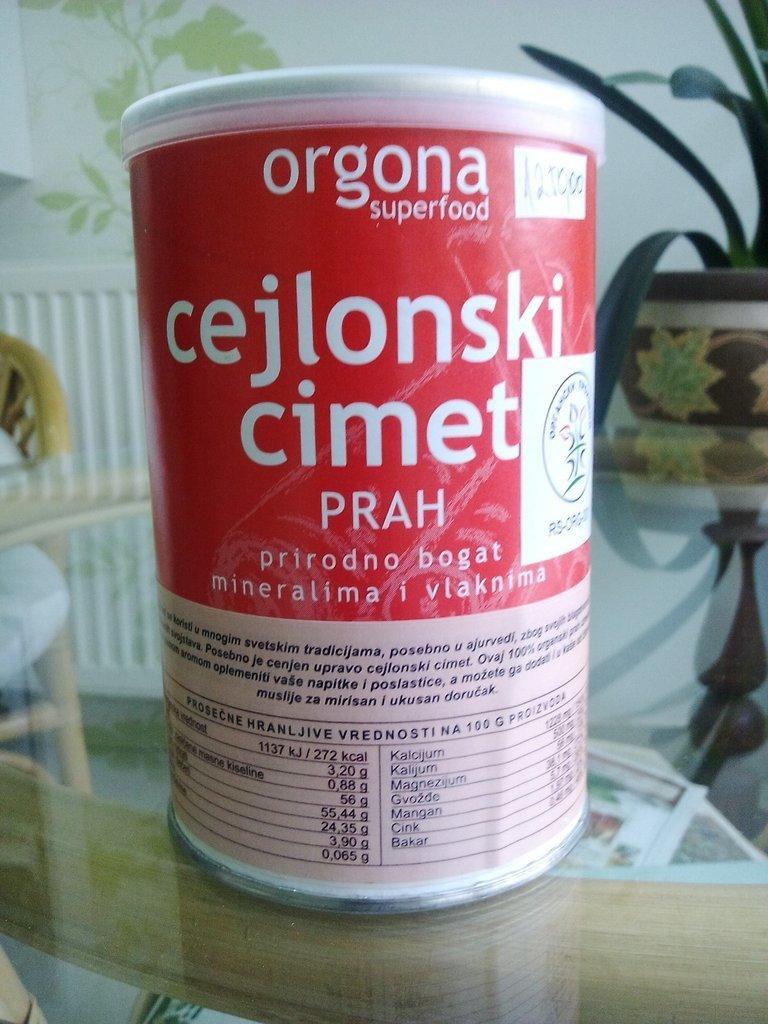 Organski cejlonski cimet 150 g 00213