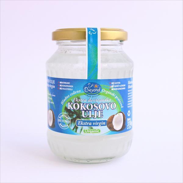 Beyond - Ekstra devičansko organsko kokosovo ulje 310 g