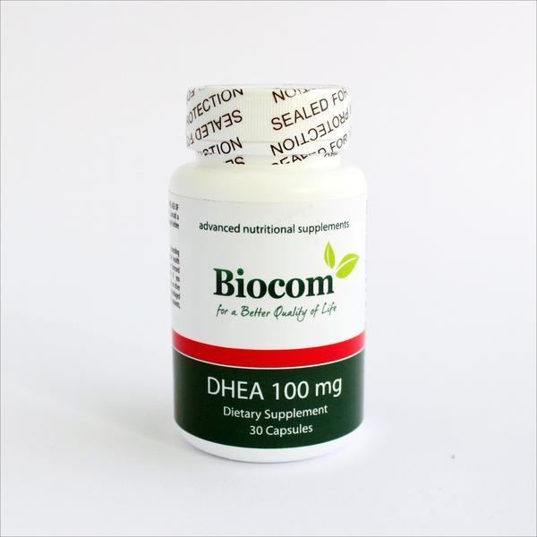 Biocom DHEA 100 mg - 30 kapsula 0003