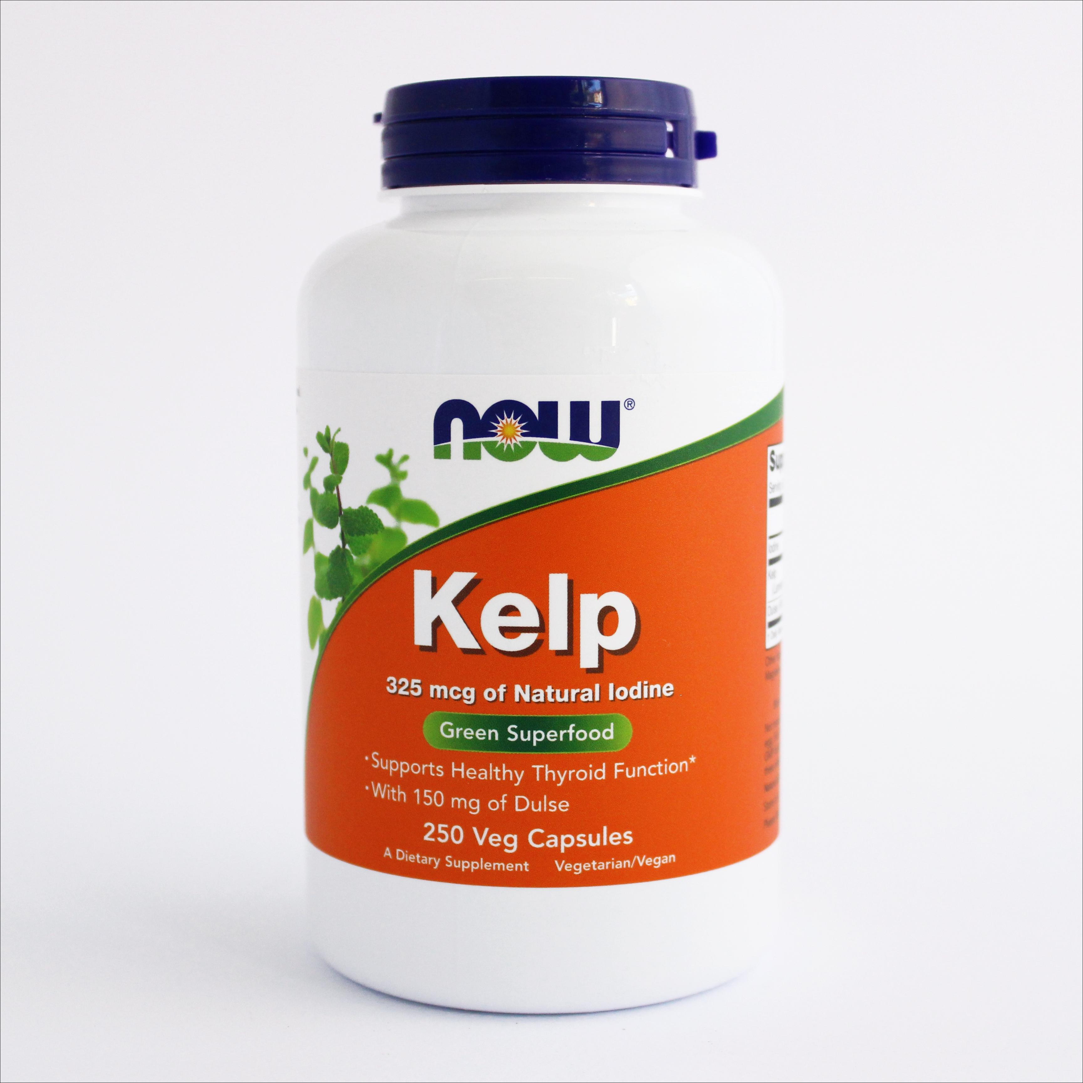 Now Kelp alge - 250 kapsula(325 mcg) 00192