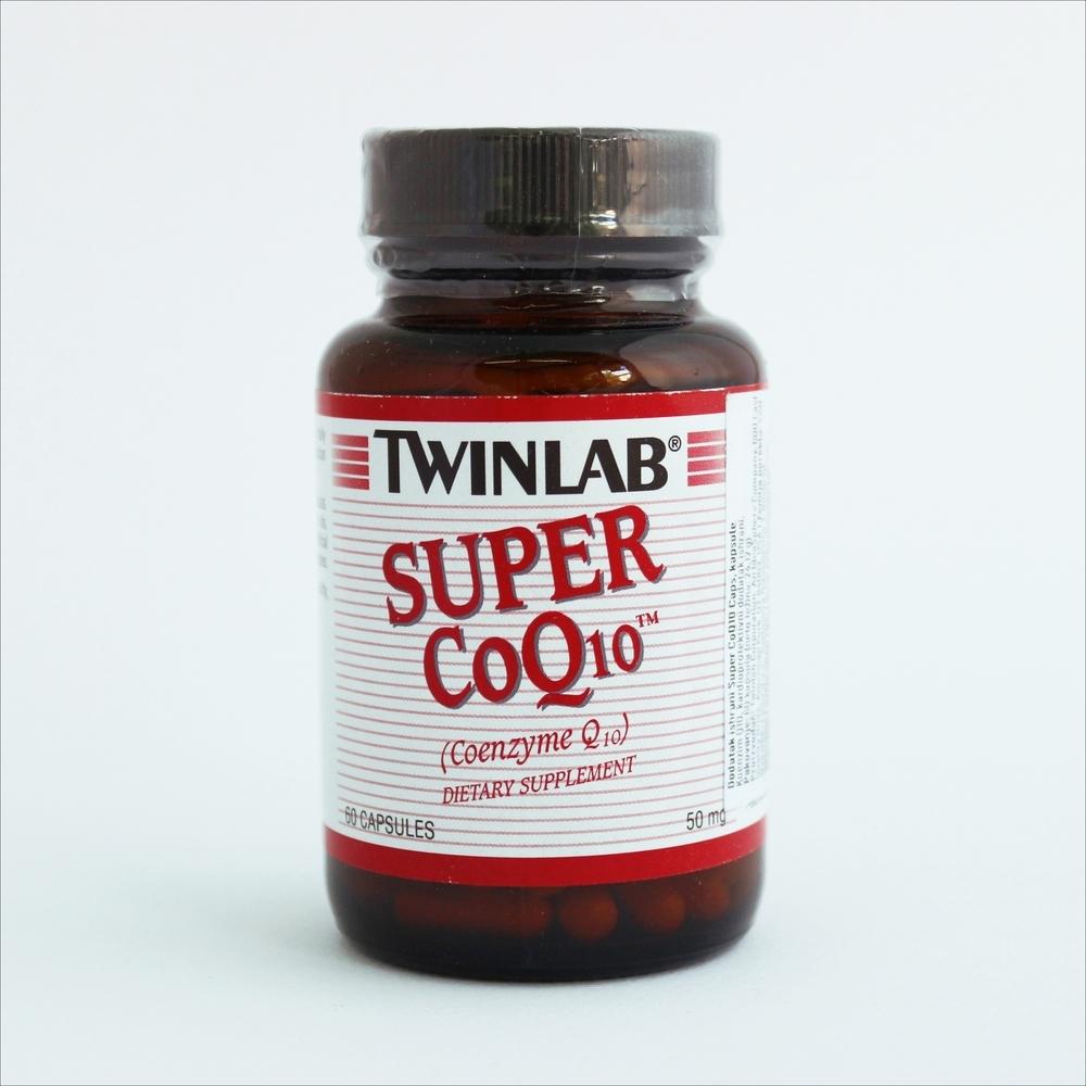 Twinlab Super koenzim Q10, 50 mg, 60 kapsula