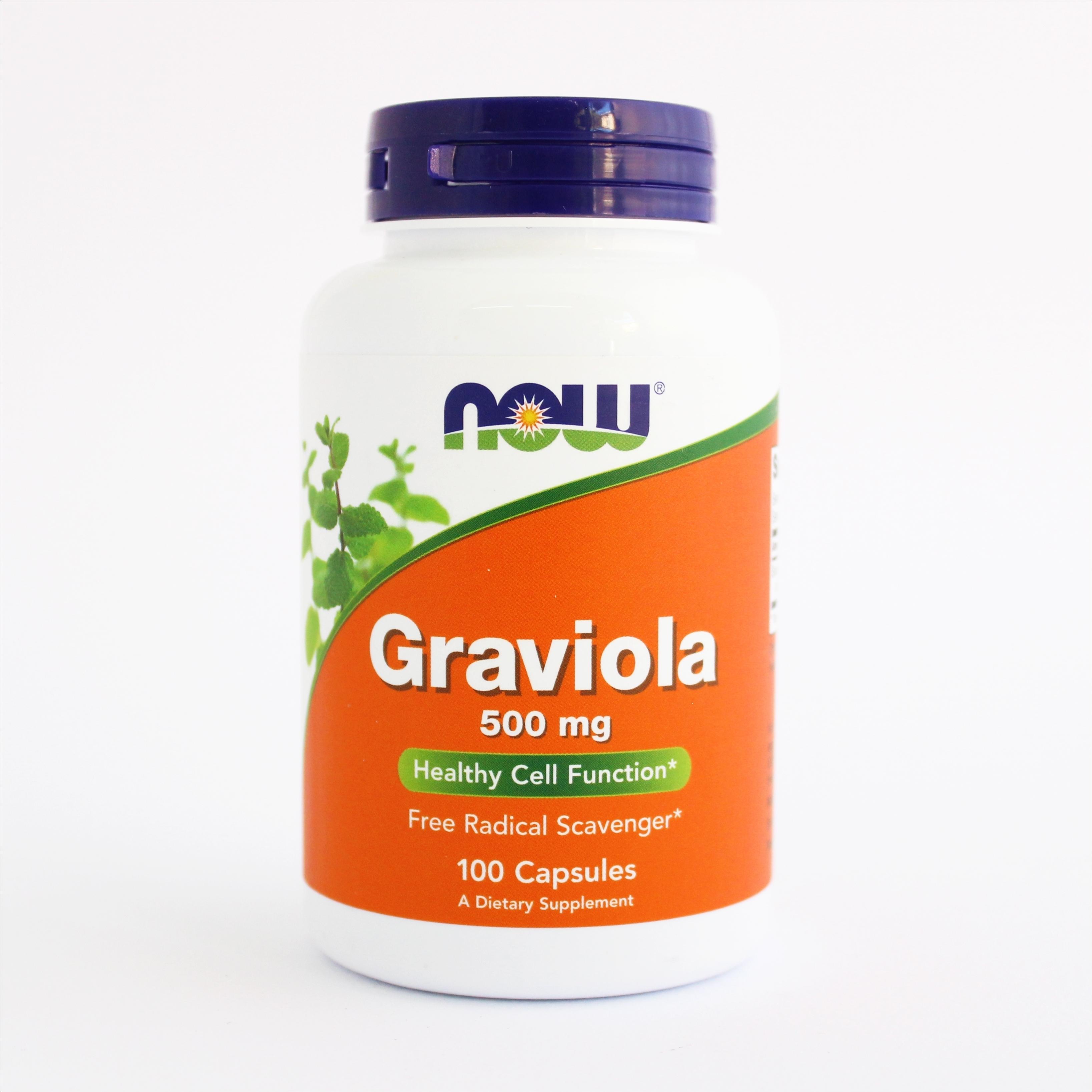 Now Graviola 500 mg 100 kapsula 00186