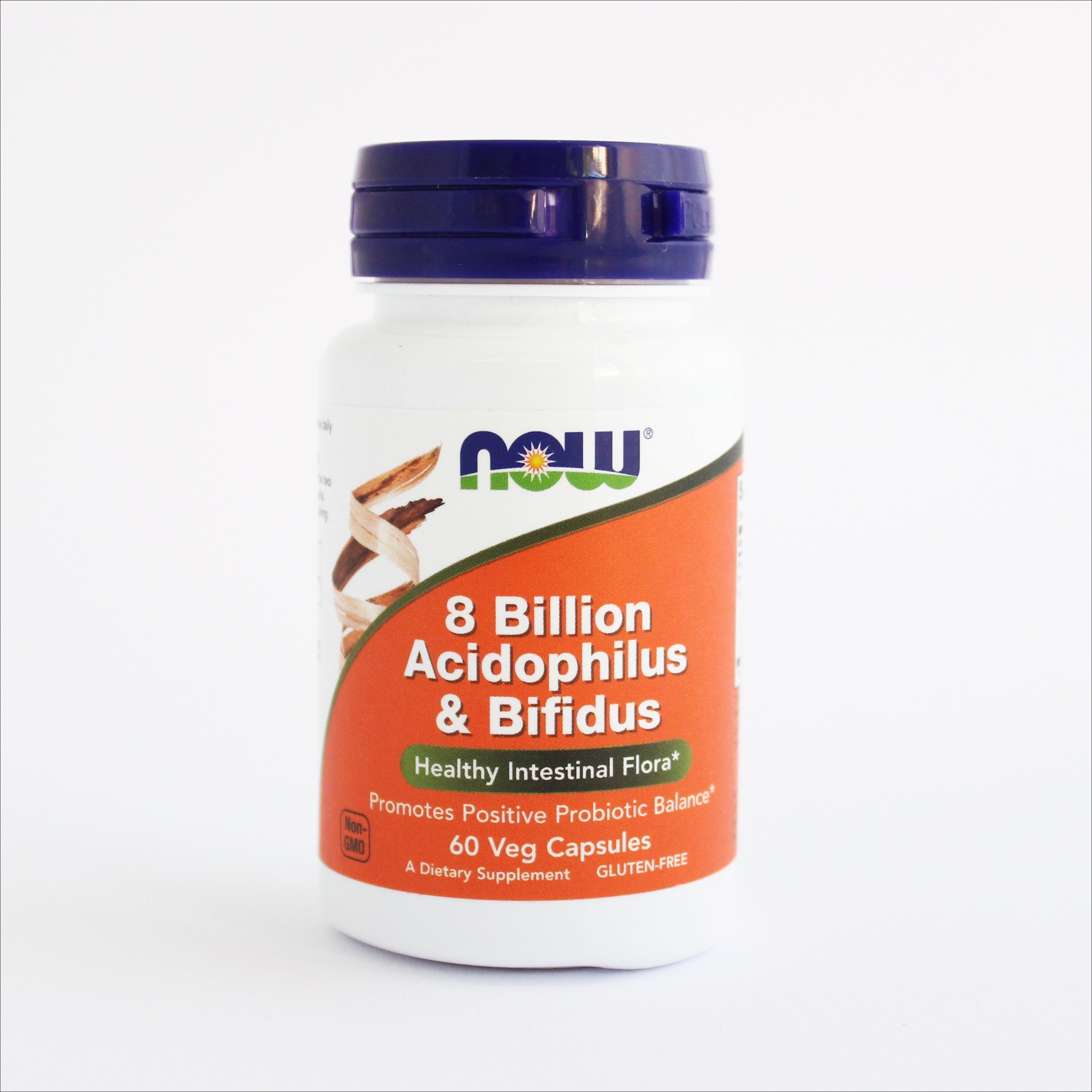 Now 8 Billion Acidophilus & Bifidus 00156