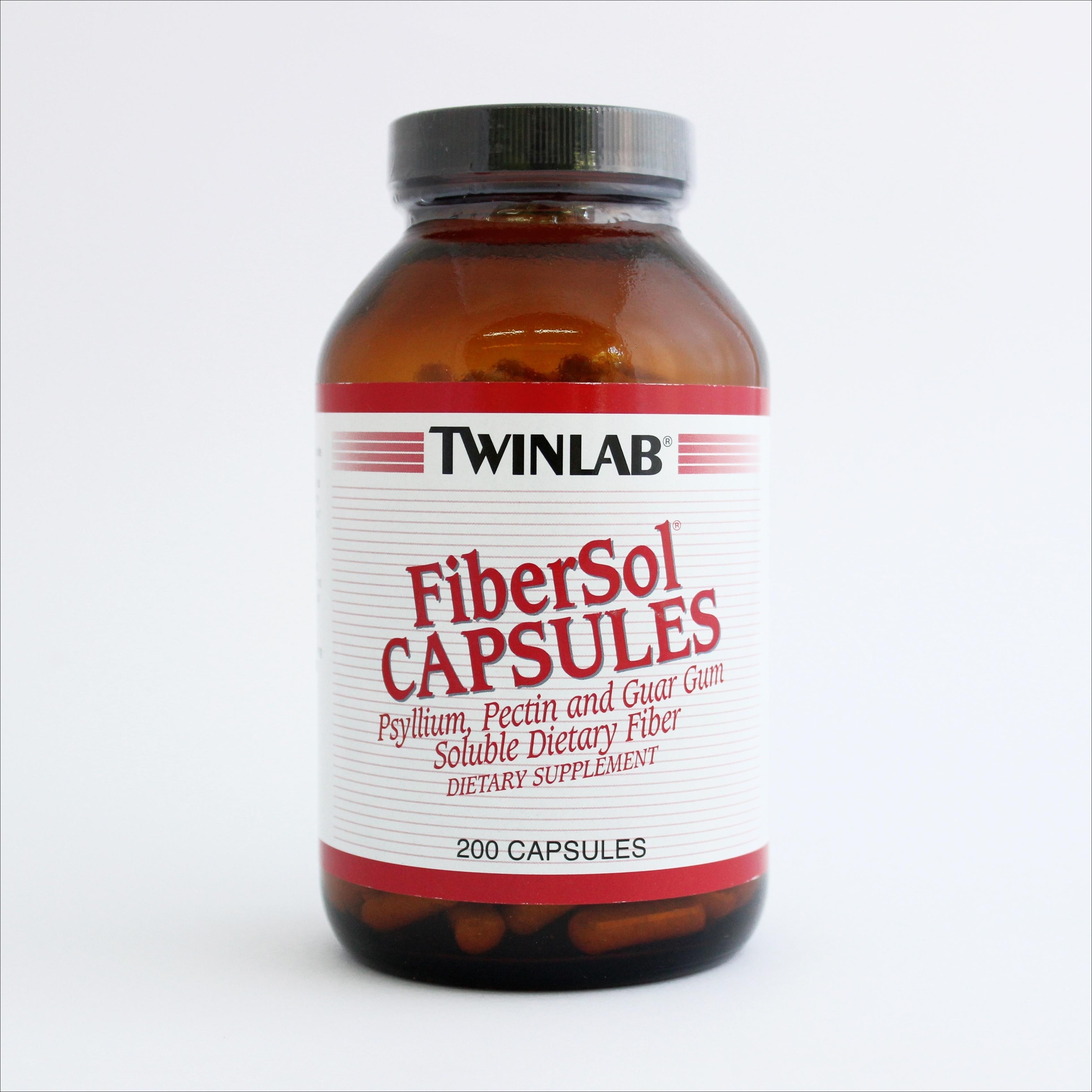 Twinlab FiberSol - za regulaciju probave i mršavljenje - 200 kapsula 00216