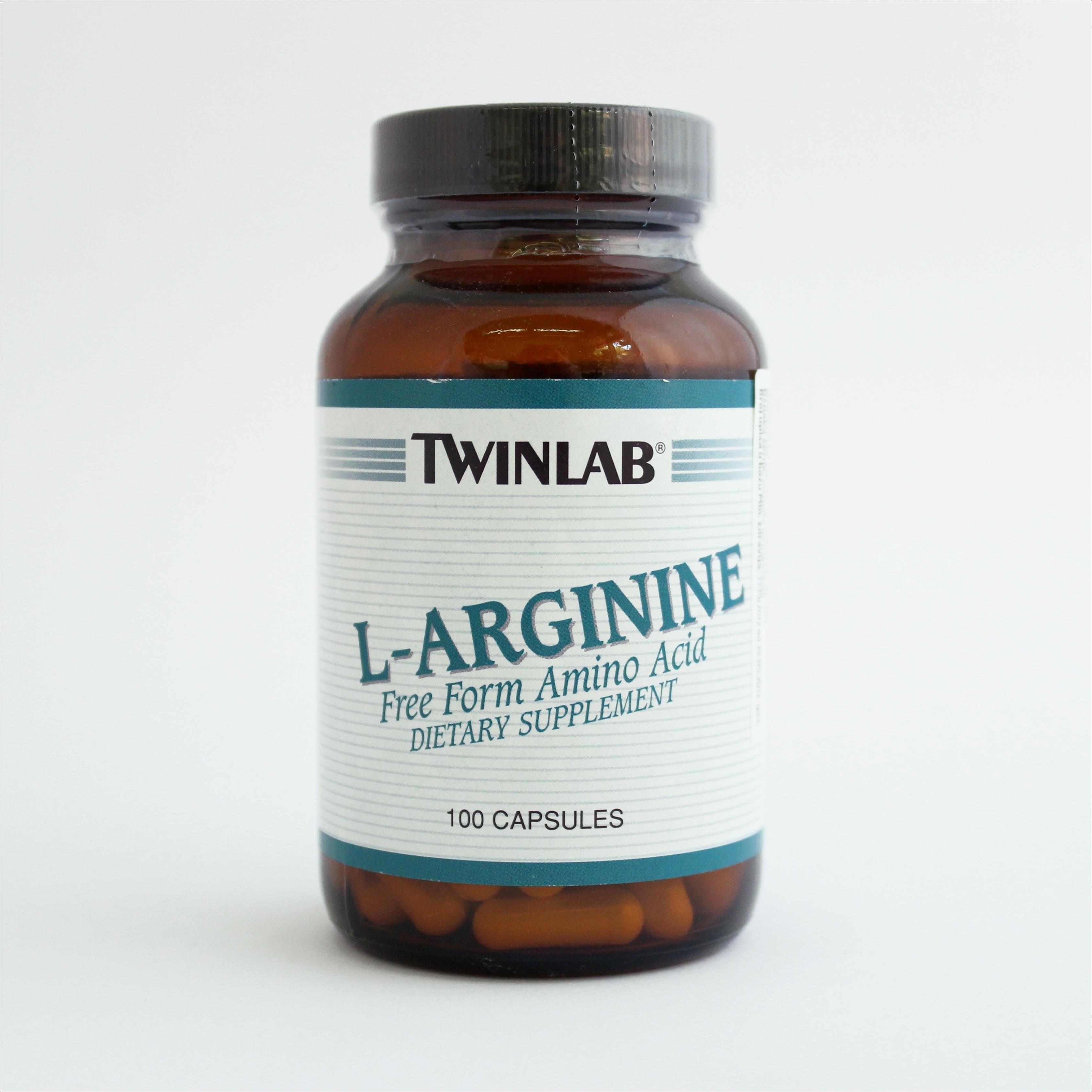 Twinlab L-arginin 500 mg 100 kps 00144