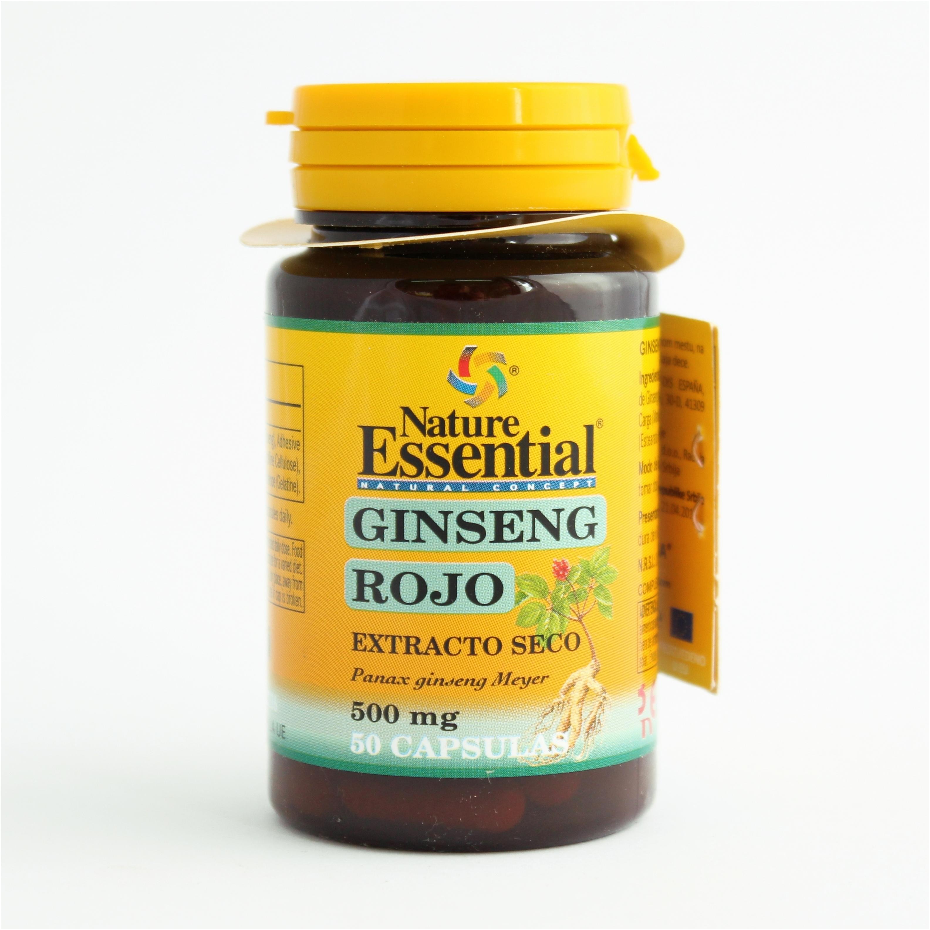 NE žen-šen 500 mg - 50 kapsula 00139