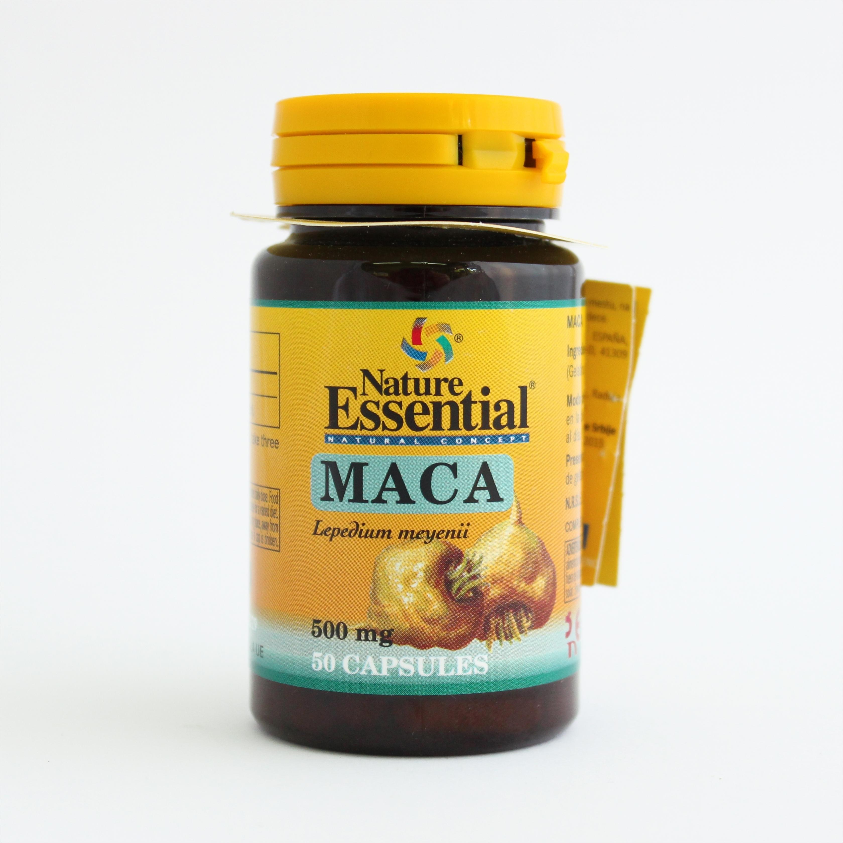 NE maka 500 mg, 50 kapsula 00141