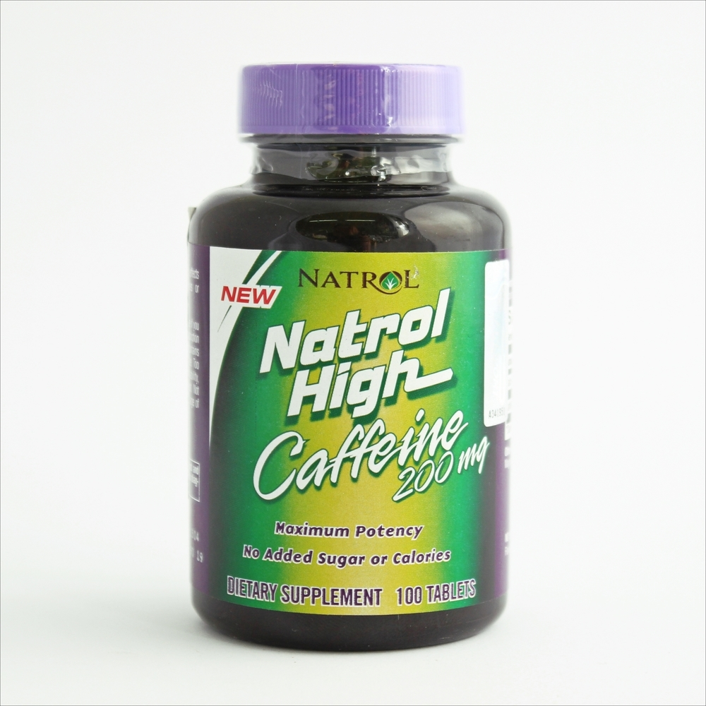 Natrol High caffeine 200 mg - 100 tableta