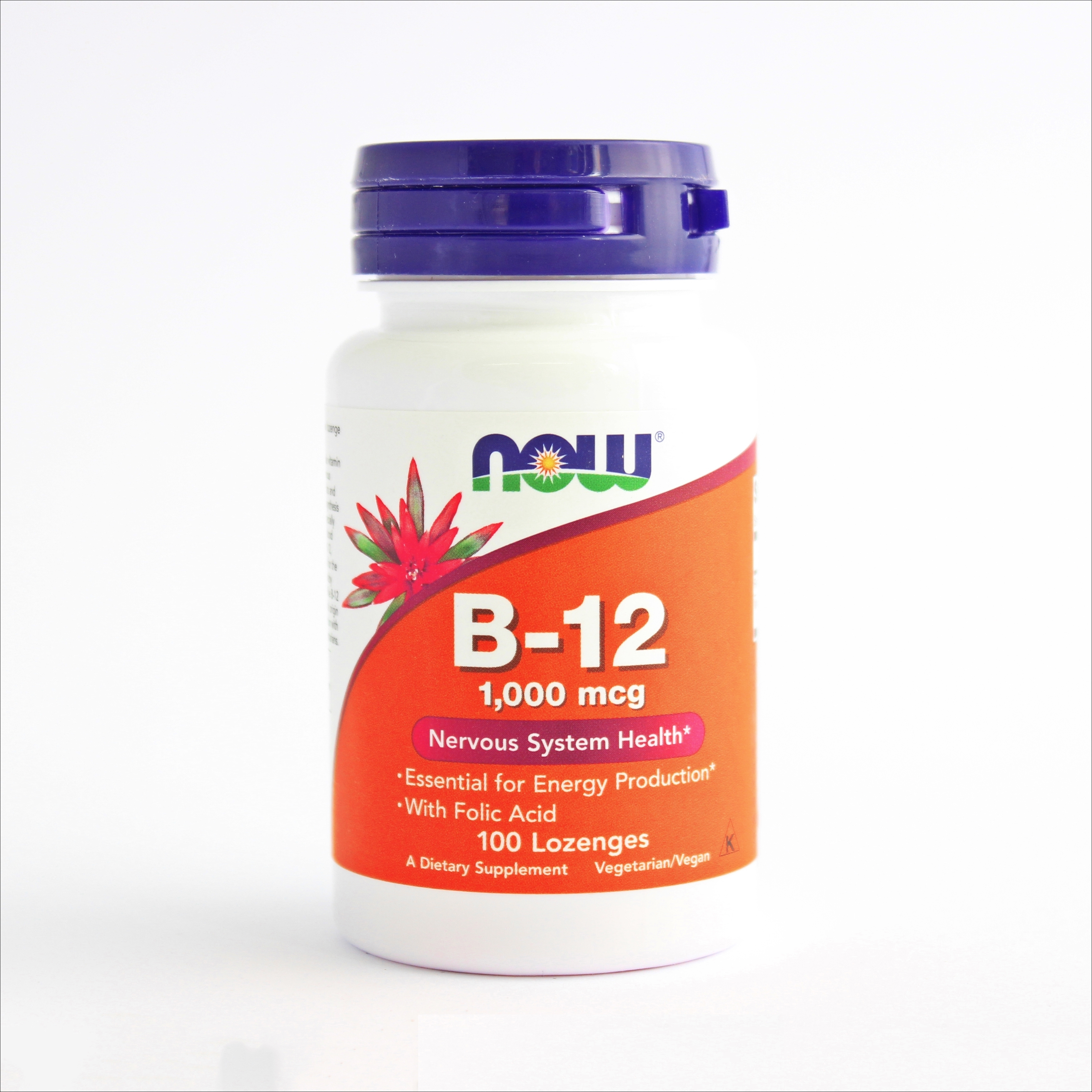 Now Vitamin B 12 1000 mcg 100x 00207