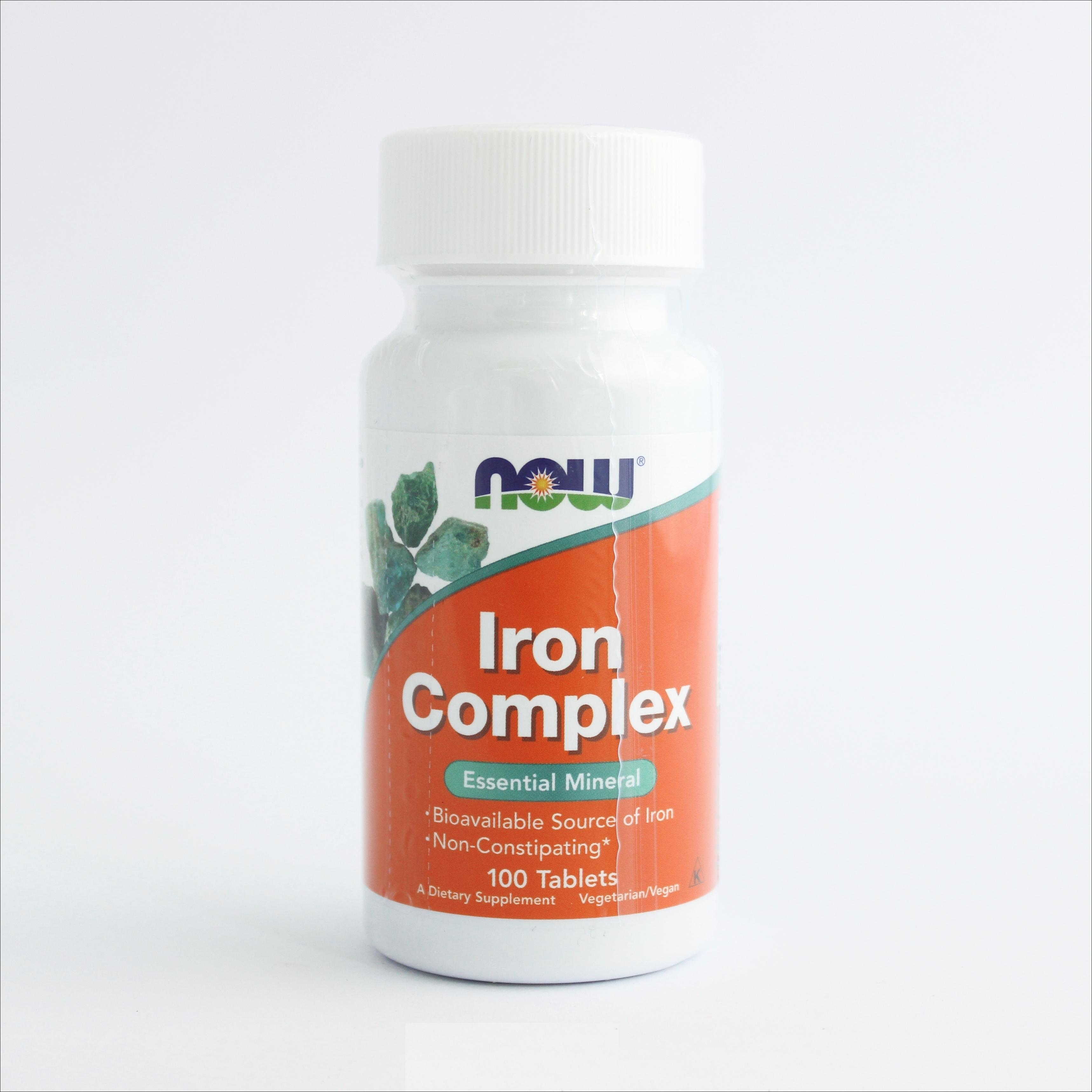 Now Iron complex (kompleks gvožđa)  100 tableta 00189