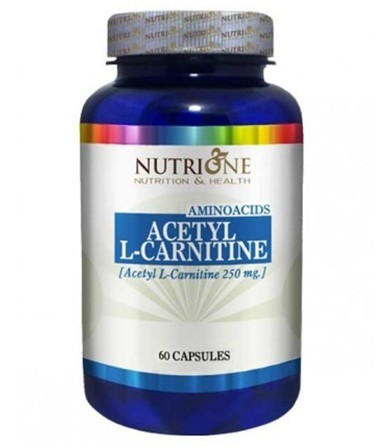 NutriOne Acetyl -L-carnitine 250 mg 6o kapsula 00289