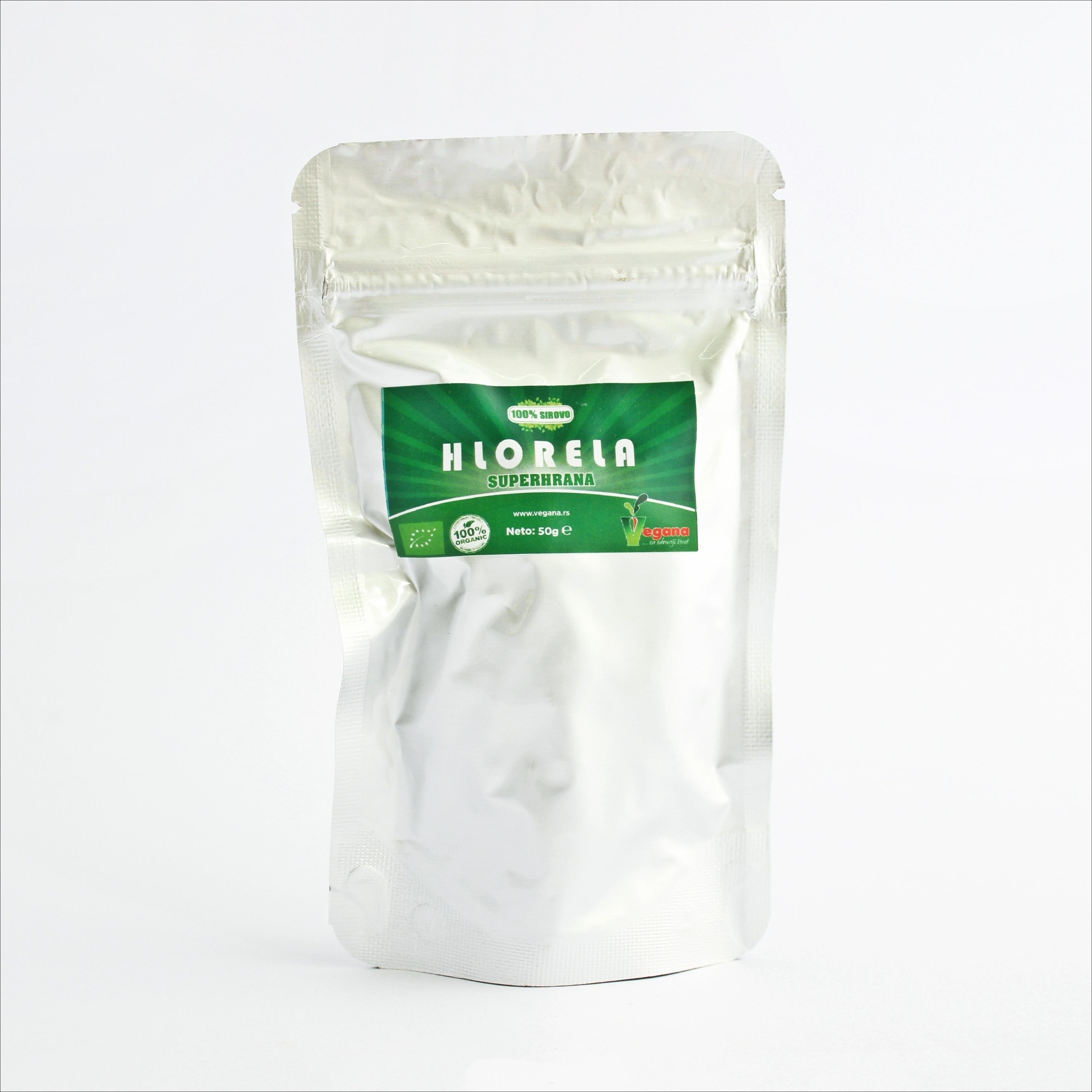 Vegana Hlorela tablete 100 g 00255