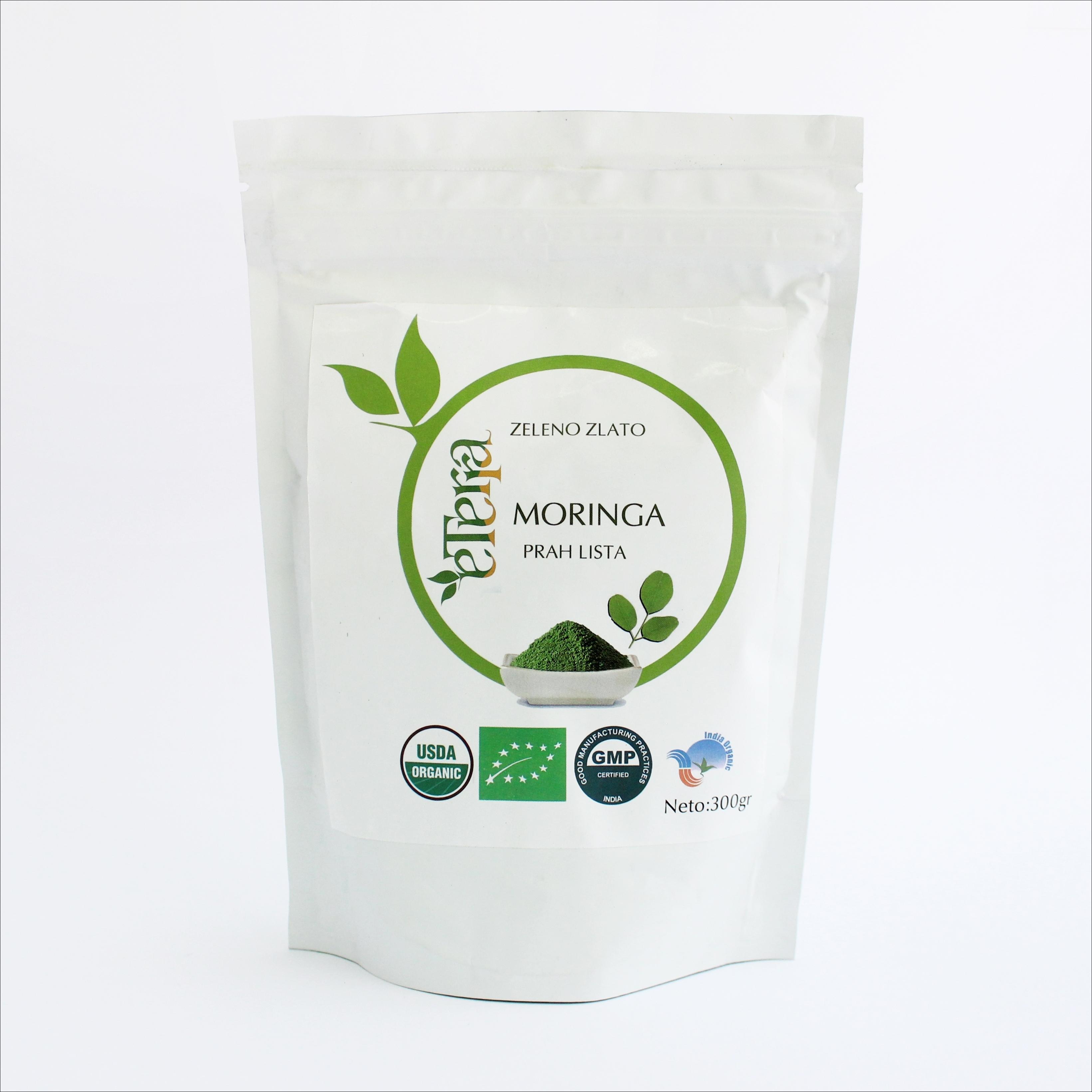 Eterra Moringa  Zeleno zlato 300 g (u prahu) 00015