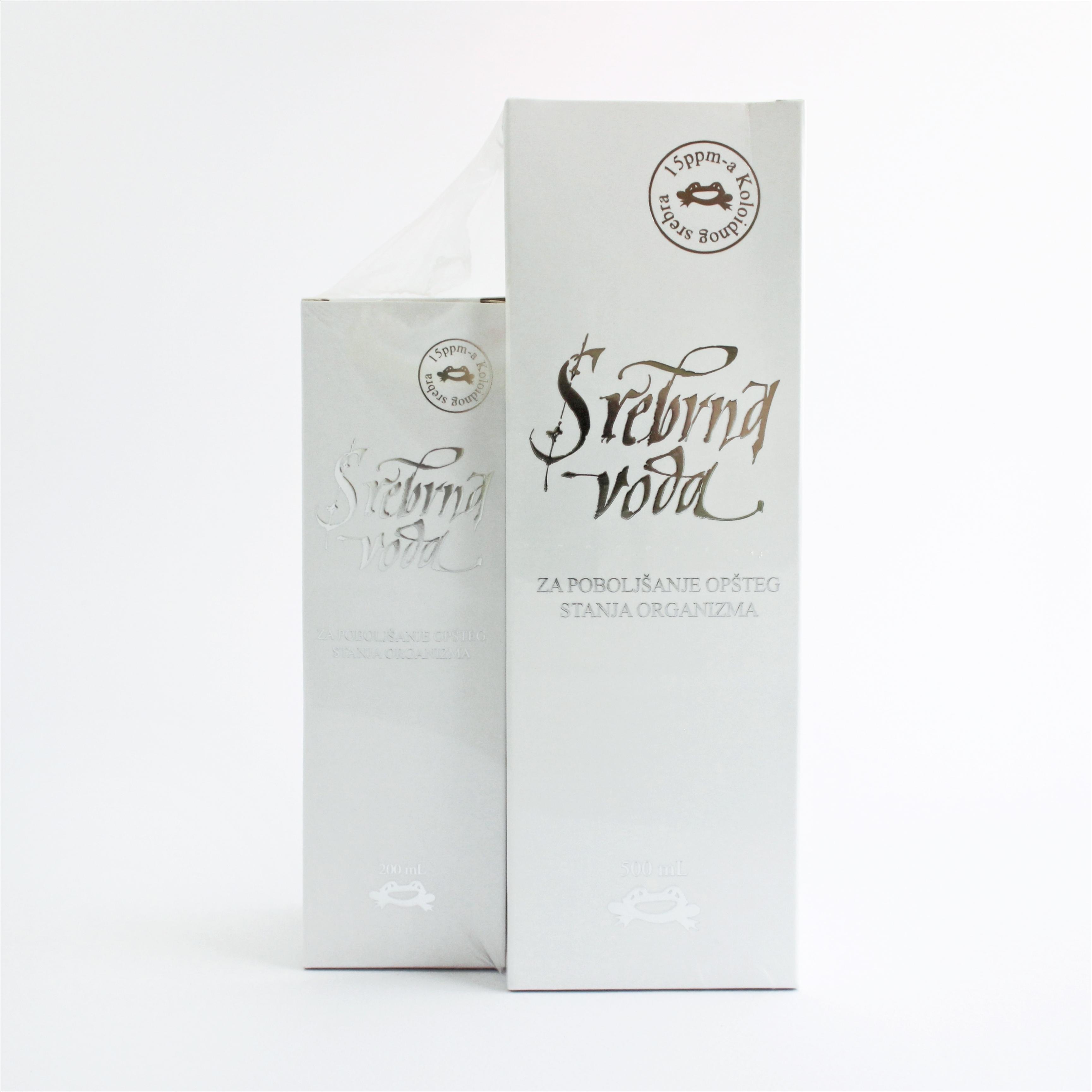 SREBRNA VODA 500 ml + 200 ml gratis 00261