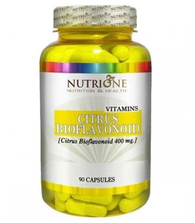 NutriOne citrusni bioflavonoidi 400 mg 90 kapsula 00300