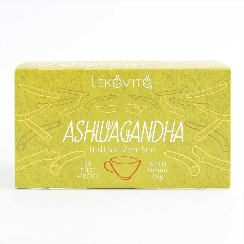 Ashwagandha filter čaj 25 kesica