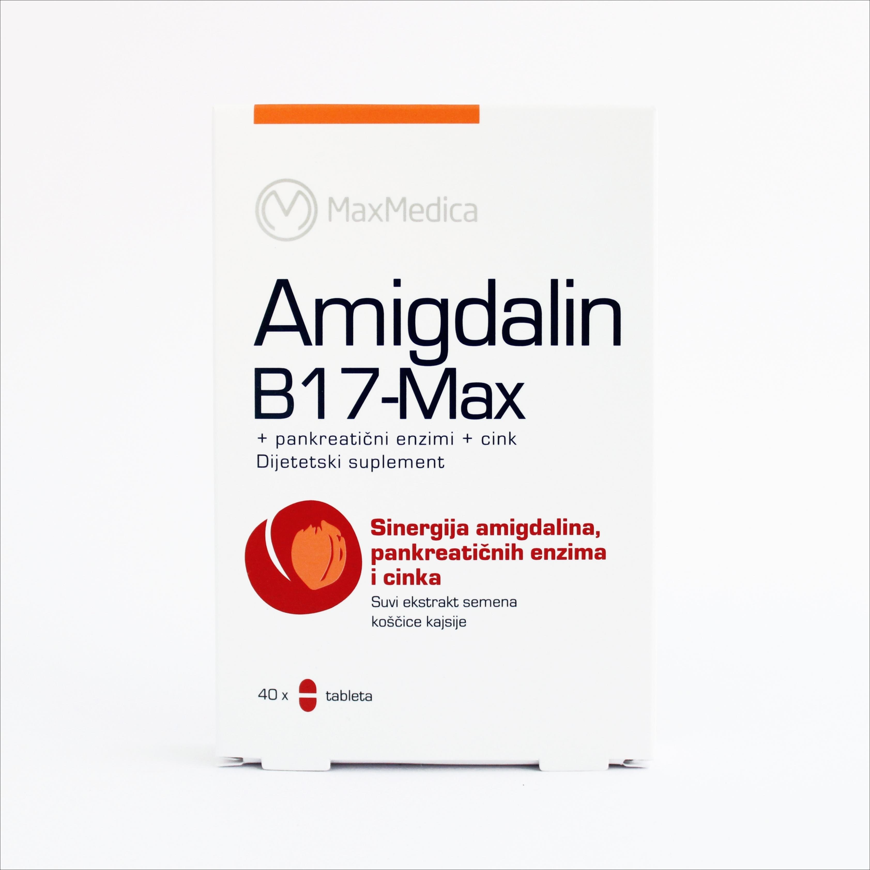 Amigdalin B17- Max 40 tableta 00000
