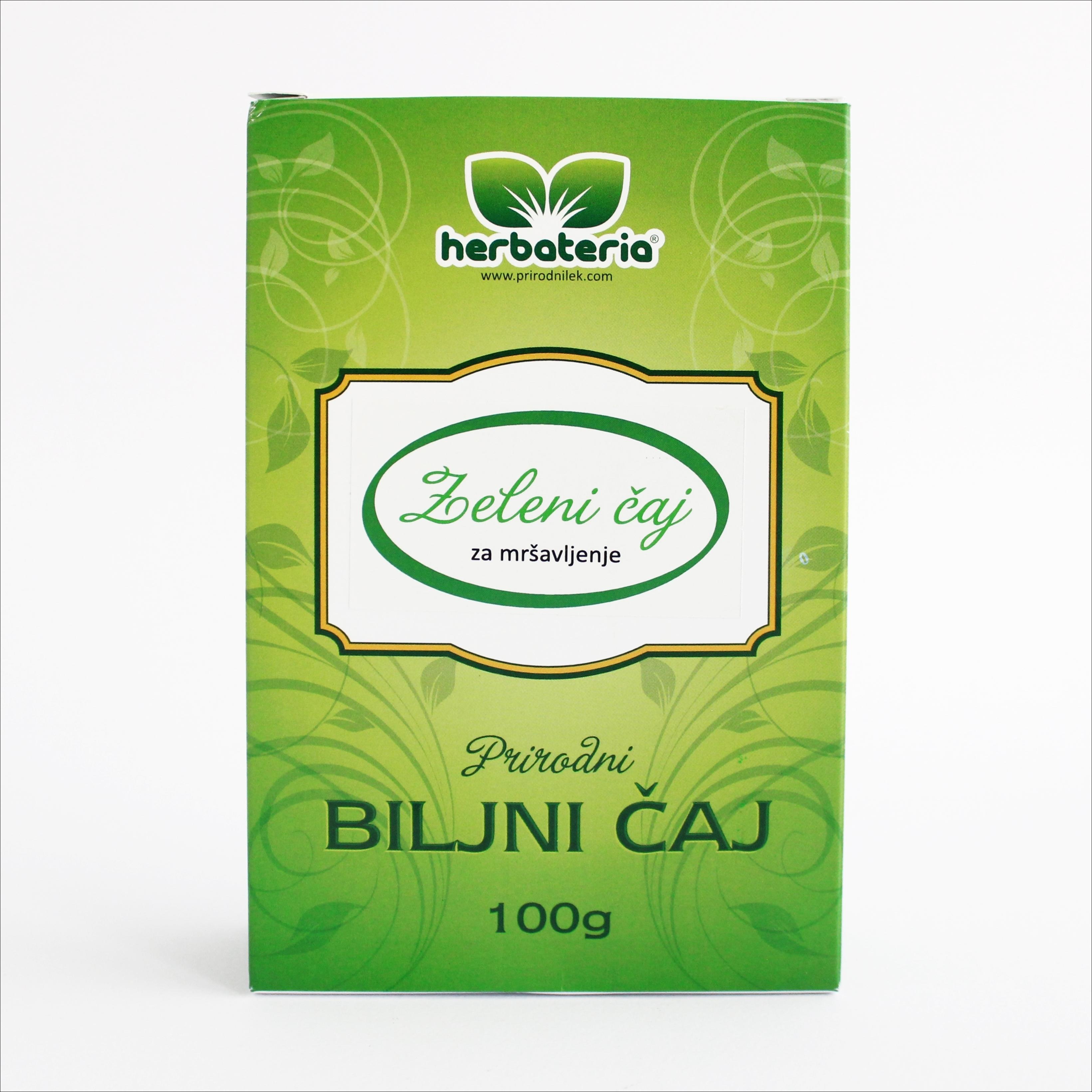 Herbateria - Zeleni čaj za mršavljenje 00104