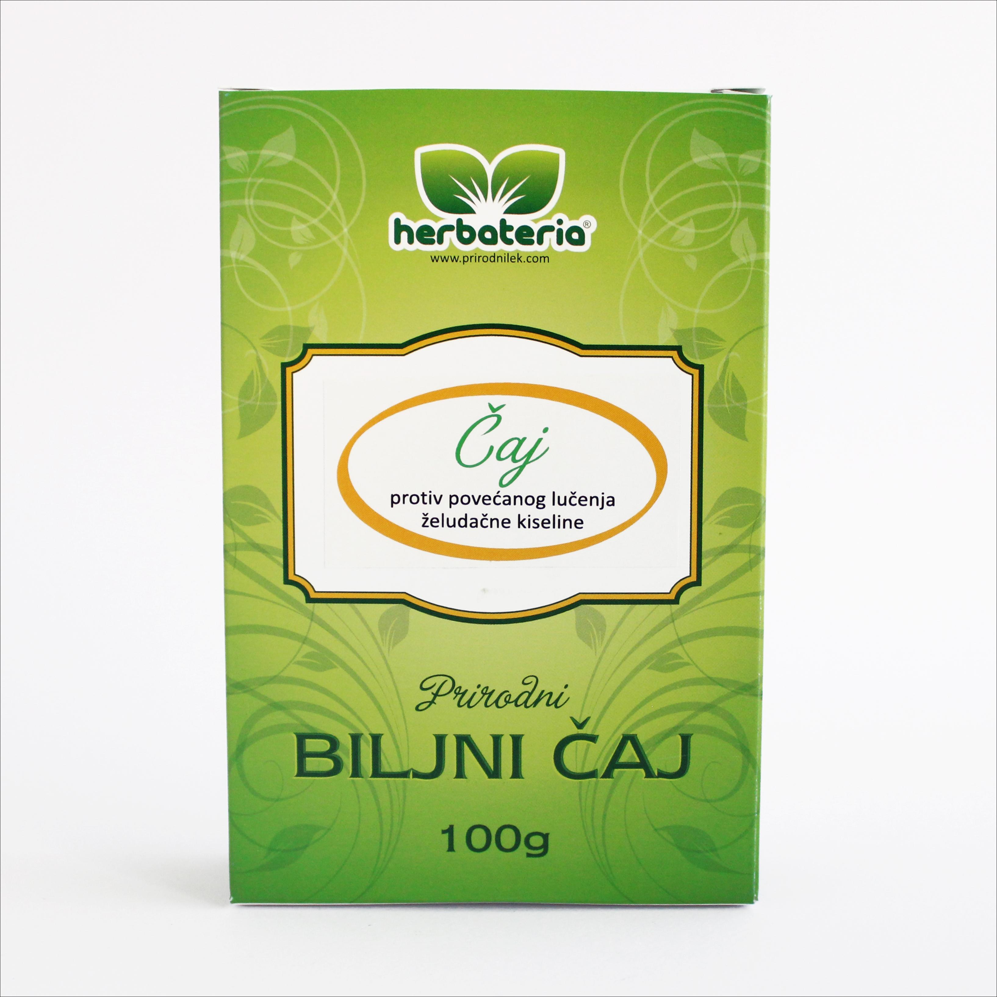 Herbateria - Čaj protiv povećanog lučenja želudačne kiseline 00064