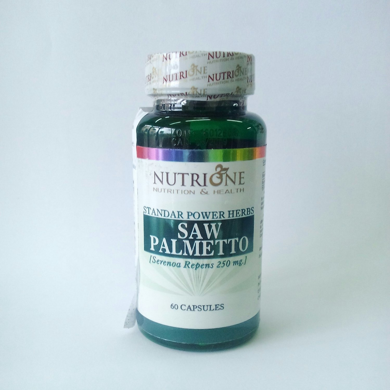 NutriOne Saw Palmetto 250 mg 60 kapsula