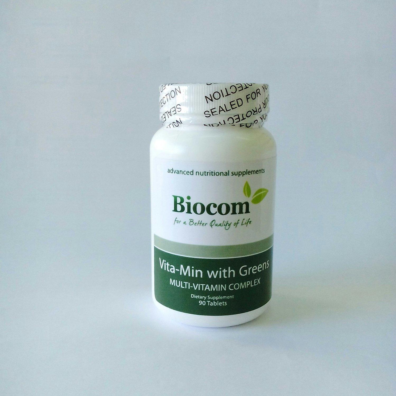 Biocom Vita-Min with Greens 90 tbl