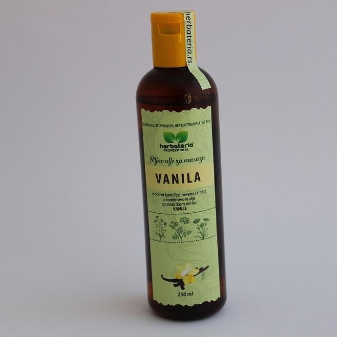 Biljno ulje za masažu vanila