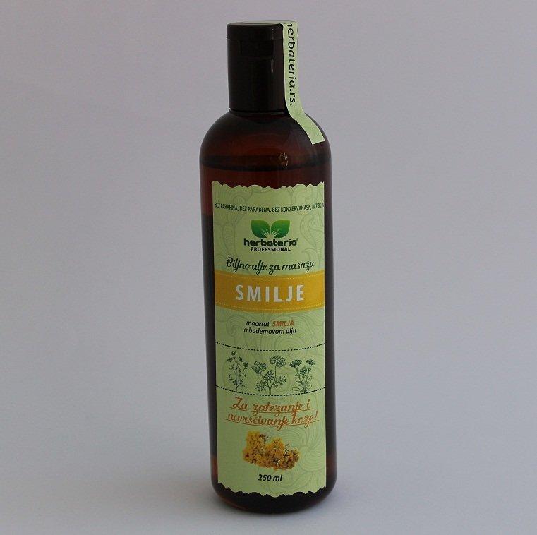 Herbateria - Smilje biljno ulje za masažu 250 ml 00332