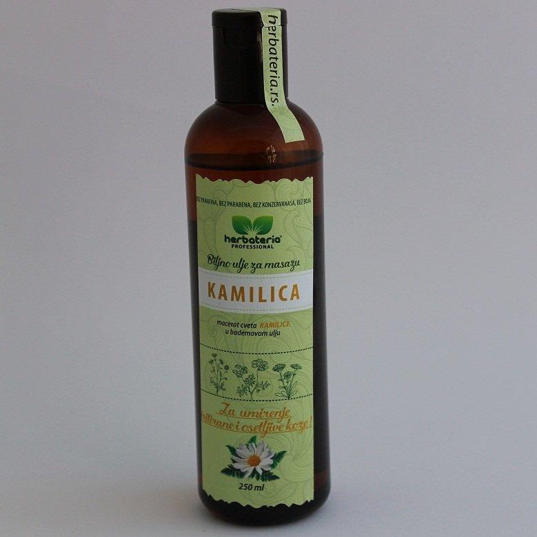 Herbateria - Kamilica biljno ulje za masažu 250 ml 00335