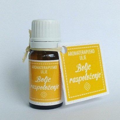Herbateria - Aromaterapijsko ulje za inhalaciju za bolje raspoloženje 10 ml 00351