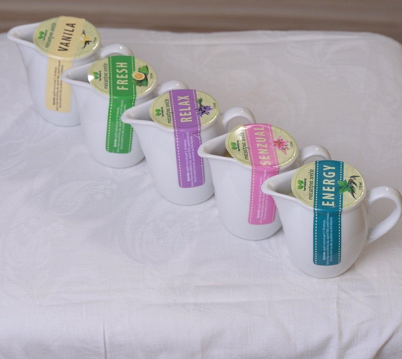 Herbateria - Masažna sveća 110 ml 00328